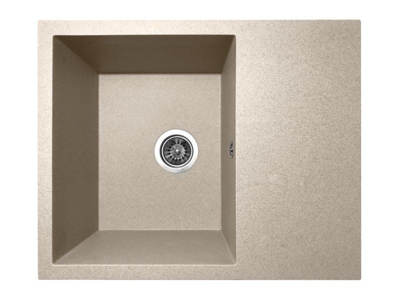 Кухонная мойка PoliComposite К02 беж