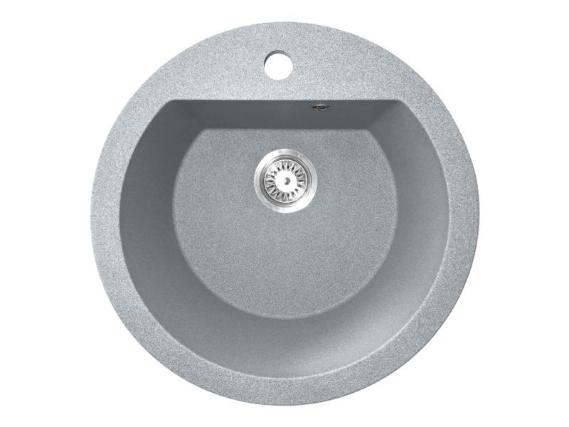 Кухонная мойка PoliComposite М02 серый