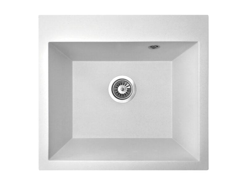 Кухонная мойка PoliComposite К03 белый